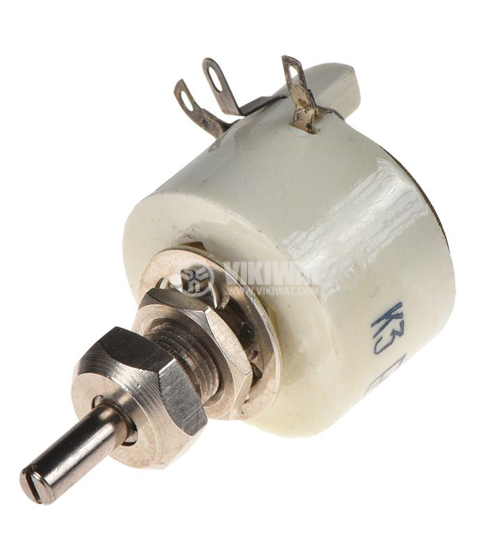 Potentiometer PPB-3V, linear, wire, 470Ohm, porcelain - 3