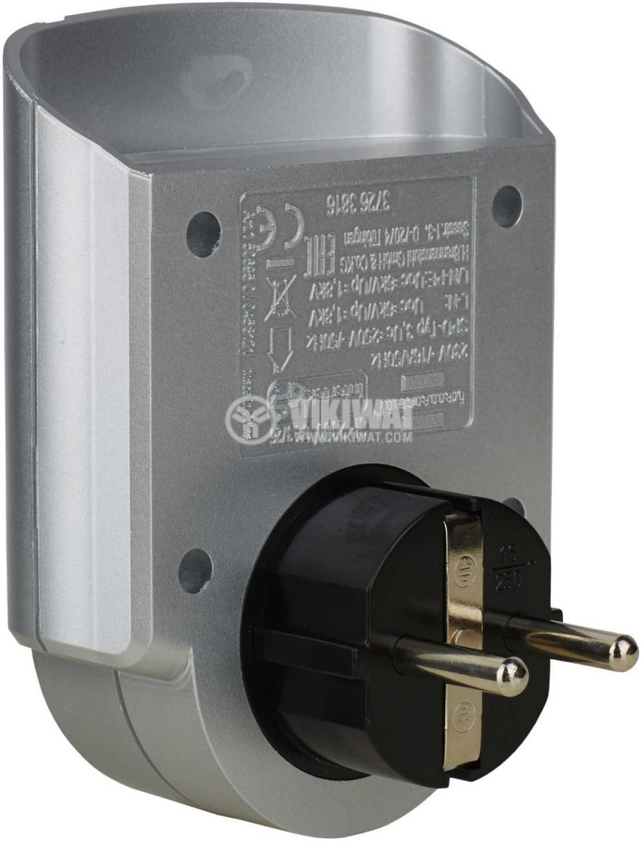 Surge protected adapter Primera-Line, Brennenstuhl, 13.500A - 4