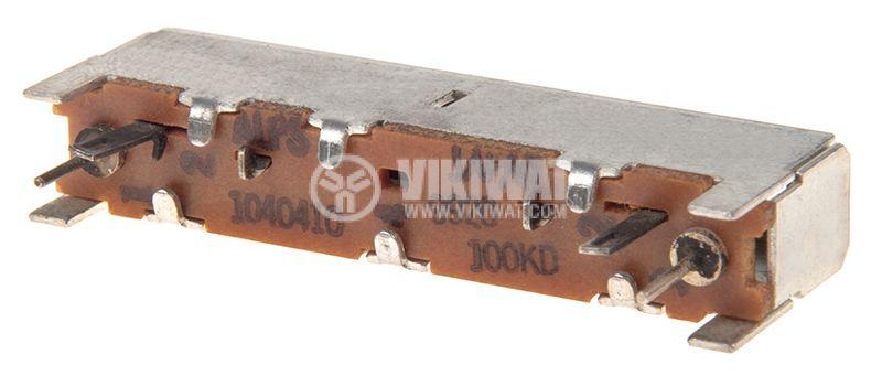 Потенциометър 100kOhm 0.25W - 3