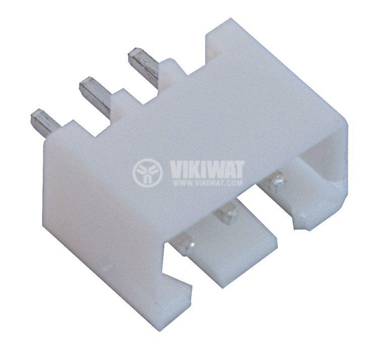 Конектор за печатен монтаж мъжки, VF25002-3A, 3 пина - 1