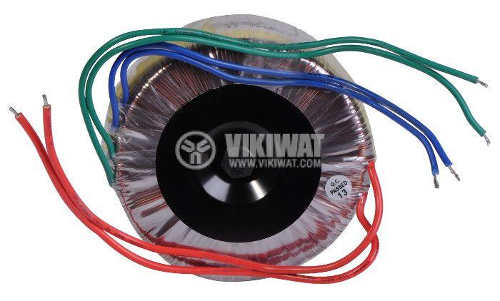 Тороидален трансформатор 230 / 24 + 24 VAC, 100 VA - 3