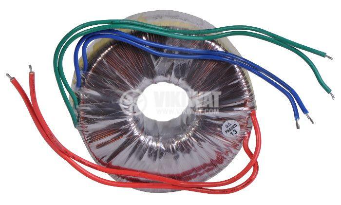 Тороидален трансформатор 230 / 24 + 24 VAC, 200 VA - 1