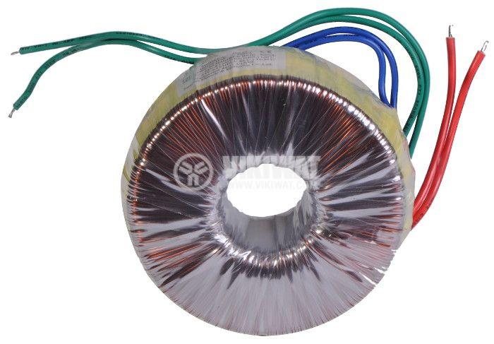 Тороидален трансформатор 230 / 24 + 24 VAC, 200 VA - 2