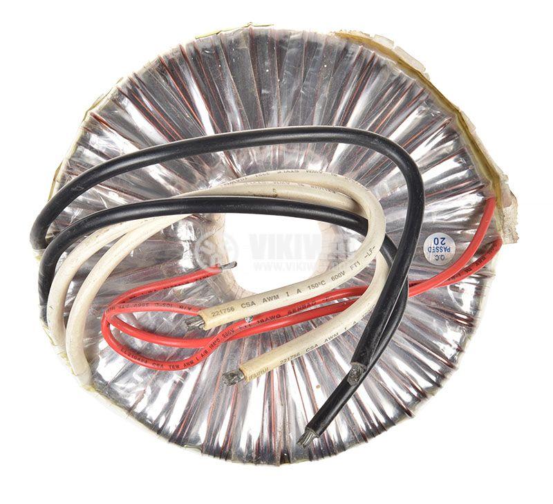 Тороидален трансформатор 230 / 12 + 12 VAC, 600 VA - 1