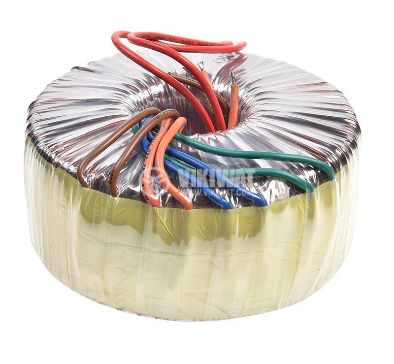 Тороидален трансформатор 230 / 2 x 28 VAC  + 2 x 14 VAC, 400 VA - 1