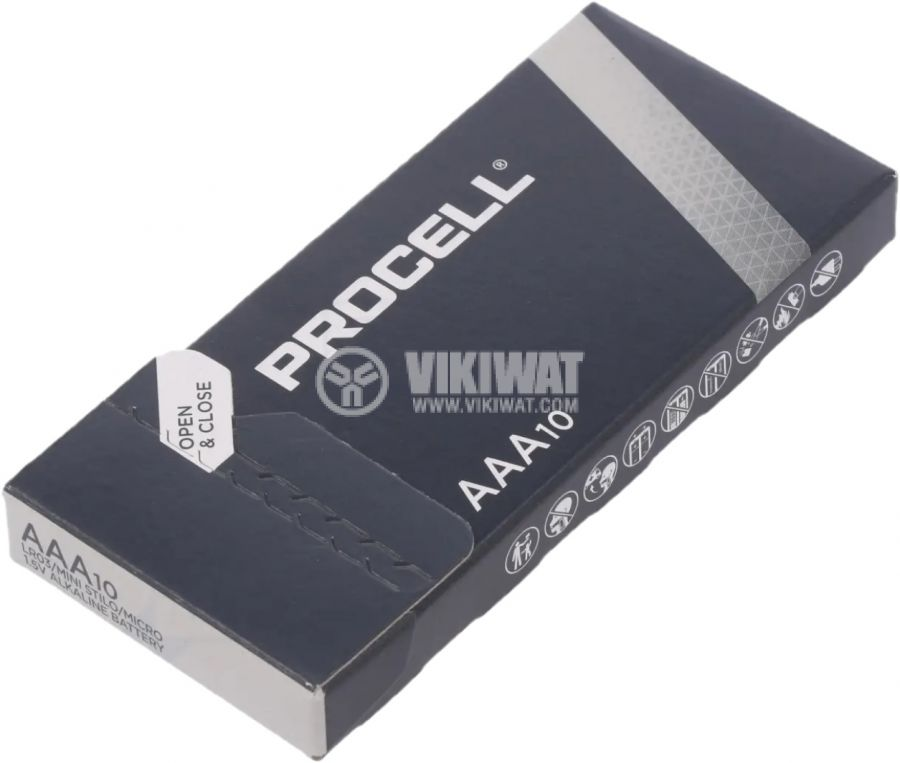 Battery LR03 AAA 1.5V PROCELL LR03 INDUSTRIAL - 2