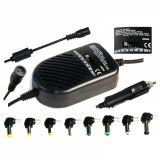 Зарядно за лаптоп за кола с изходни напрежение 16/18/19/20/22/24VDC 3500/2900mA