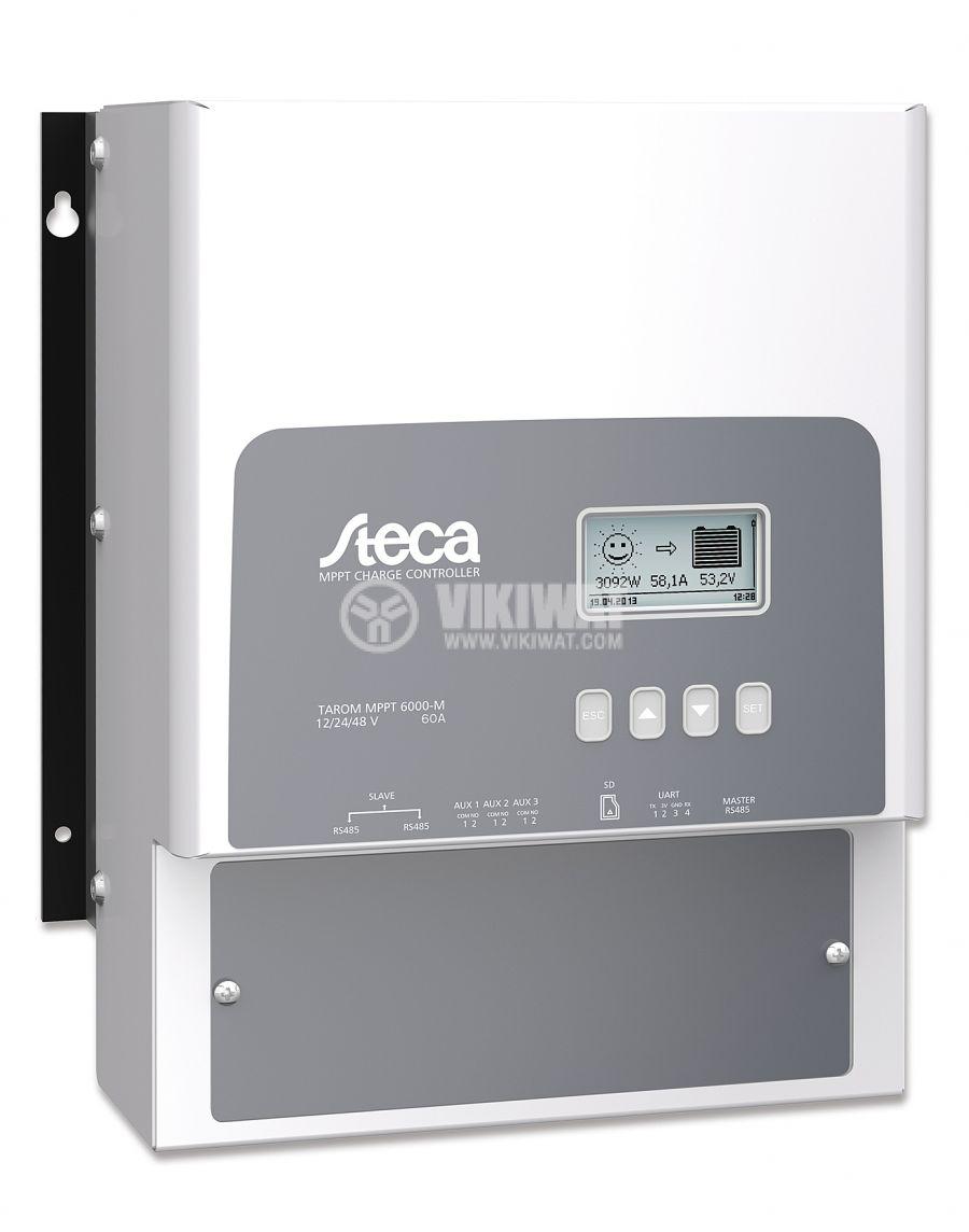Solar chгarge regulator, Tarom MPPT 6000-M, 60A, 12V / 24V/ 48V - 1