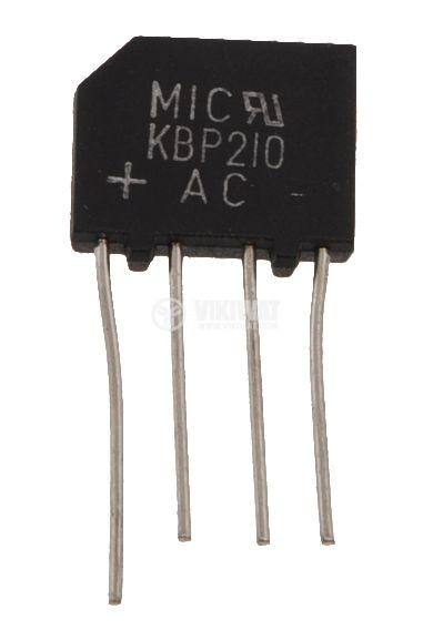 Грец схема 2A/1000V KBP 210