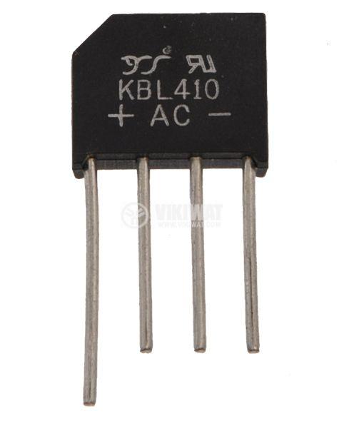 Грец схема 4 A/1000 V, KBL410