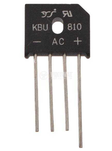 Грец схема 8A/1000V KBU810