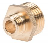 "Brass connector G1/2""-G3/4"", S21mm"