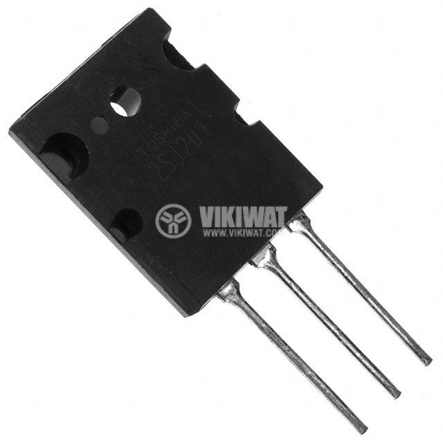 Транзистор 2SB1163, PNP, 180 V, 15 A, 150 W, 20 MHz, TOP3L