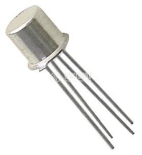 Транзистор BF173, NPN, 40 V, 0.25 A, 0.2 W, 550 MHz, TO72