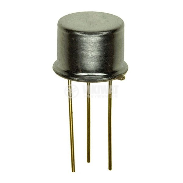 Транзистор BF258, NPN, 250 V, 0.1 A, 5 W, 90 MHz, TO39
