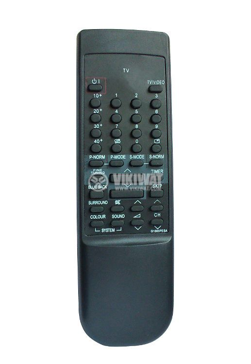 Remote control, SHARP G1085PESA