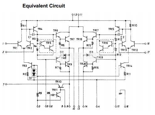 Интегрална схемна STK4142 - 2