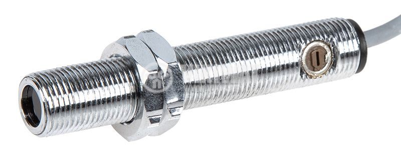 Оптичен датчик дифузен ODD12N111L NPN NO M12x67mm 10-30VDC обхват 200mm месинг - 1