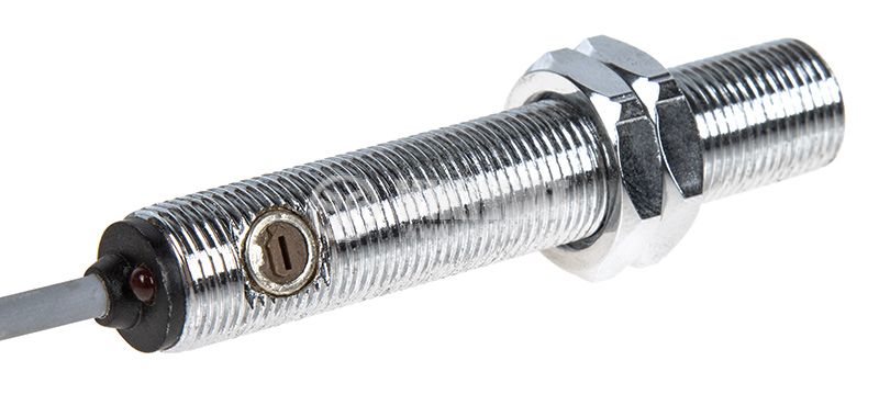Оптичен датчик дифузен ODD12N111L NPN NO M12x67mm 10-30VDC обхват 200mm месинг - 4