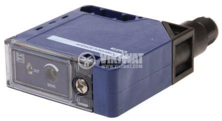 Оптичен датчик дифузен XUK5APANM12 PNP 1NO 12-24VDC 50x50x18 mm 0.3...1 m