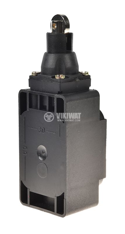 Краен изключвател XCK-S102, SPDT-NO+NC, 10A/250VAC, щифт с ролка - 2