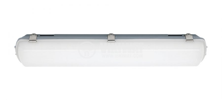 Linear LED body, 20W, 220VAC, 1600lm, 6400K, cold white, 600mm, IP65, waterproof, BT01-0620 - 3