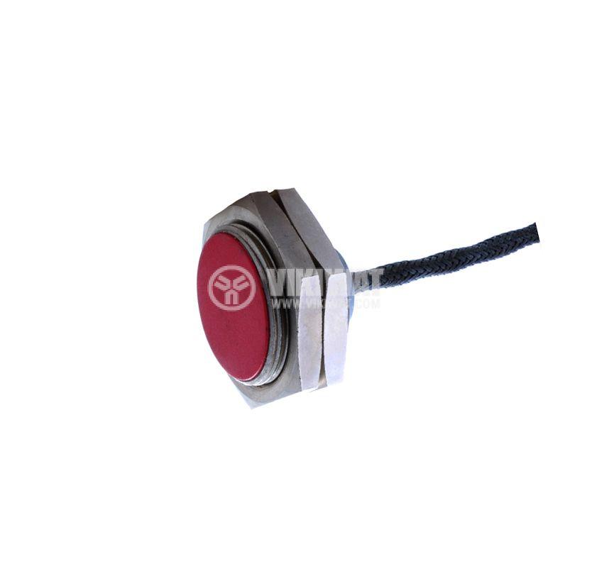 Proximity Switch 7022 LEINFELDEN 220VAC NC M30x16mm range 5mm, shielded - 2