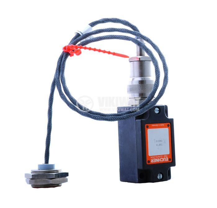 Proximity Switch 7022 LEINFELDEN 220VAC NC M30x16mm range 5mm, shielded - 1