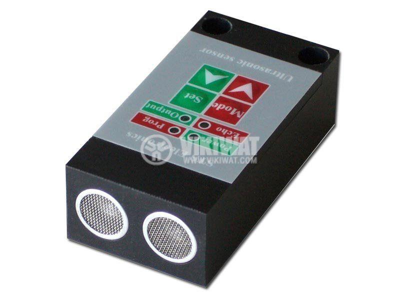 Ultrasonic Sensor, UD64N, 14-30 VDC, NPN, NO + NC, 4 m - 1