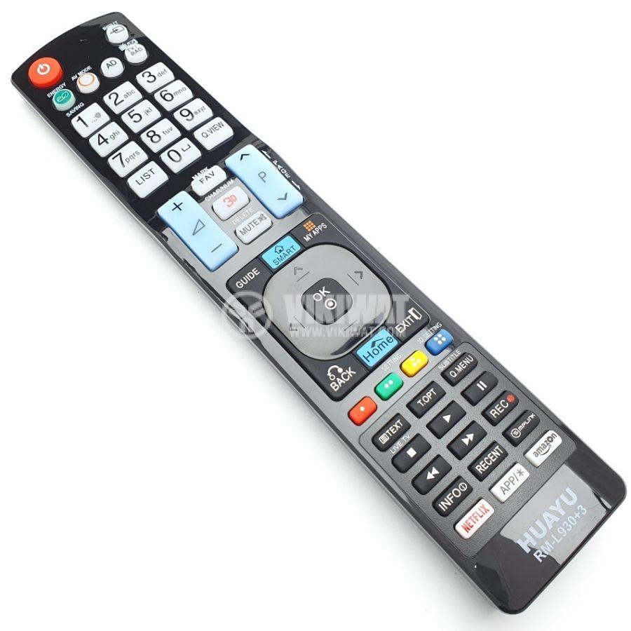 Дистанционно управление за телевизор LG, RM-L930+3 AKB72914276