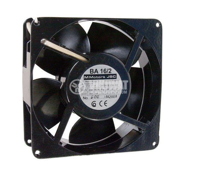 Axial Blower BA16 / 2 150 x 150 x 55 mm, 220 VAC, 46 W, 240 m3/h, high temperature - 1