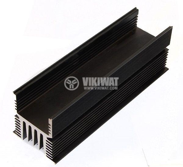 Алуминиев радиатор 190mm за SSR реле 100A, оксидиран - 2