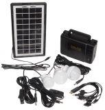 Мобилна соларна система за осветление GD-8006A, 9V, 3-7W