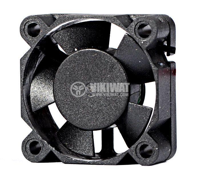 Вентилатор VM3010D12HSL, 30х30х10mm, 12VDC, 0.12A, втулка - 1