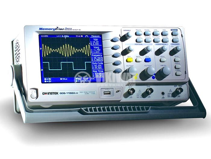 Digital Oscilloscope GDS-1152A-U, 150 MHz, 1 GSa/s real time, 2 channel - 2