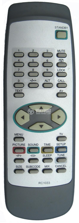 Remote control for NEO, HISENSE RC1033T