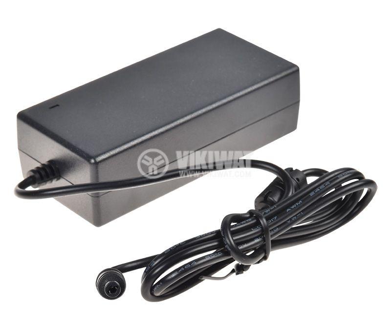 Адаптер UP048S, 12VDC, 4A, AC-DC, 220VAC, 5.5x2.5mm, стабилизиран - 3