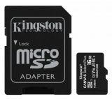 Карта памет KINGSTON Canvas Select Micro SDHC, 16GB, клас 10