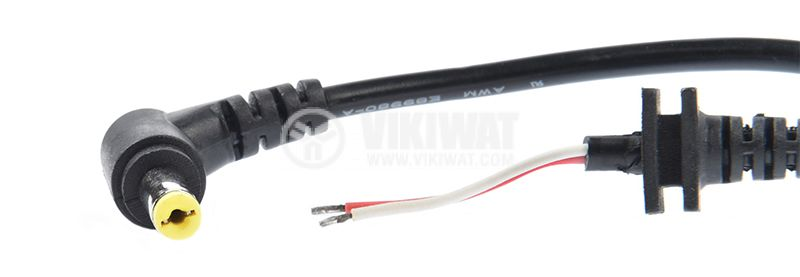 Power cable for ACER laptop with plug, 5.5x1.7mm, 1m - 3