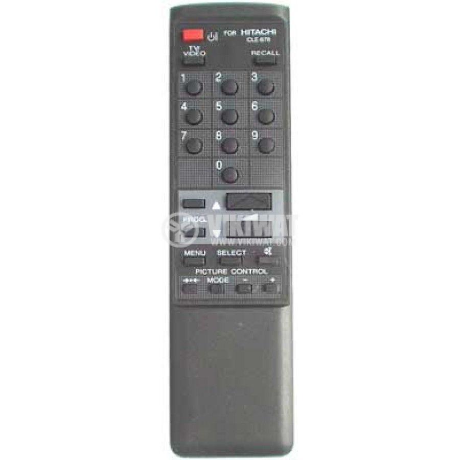 Remote control, HITACHI CLE878