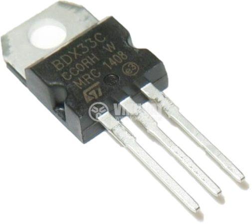 Транзистор BDX33C NPN дарлингтон 100V 10A 70W