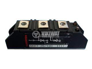 Тиристорен блок  SKKT41/06, 600V, 48A