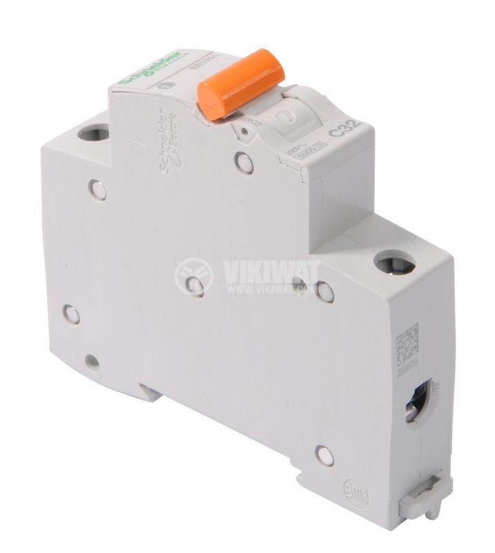 Miniature circuit breaker 1x32A IC60N BG DIN rail curve C - 2