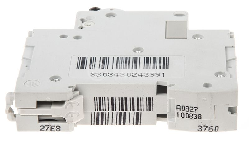 Miniature circuit breaker, 1x6A, IC60N C6, DIN rail, curve C, A9F74106 - 4