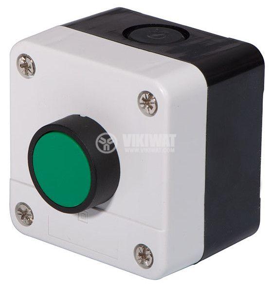 Single Push Button, B-102, 240VAC, 6A, SPST NO - 1