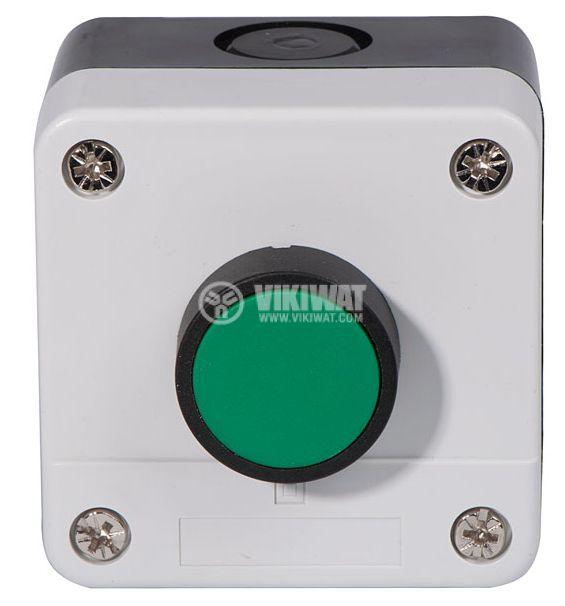 Single Push Button, B-102, 240VAC, 6A, SPST NO - 2