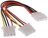 Cable Molex, 4pin Molex/m - 2xMolex 4pin/m, 0.15m