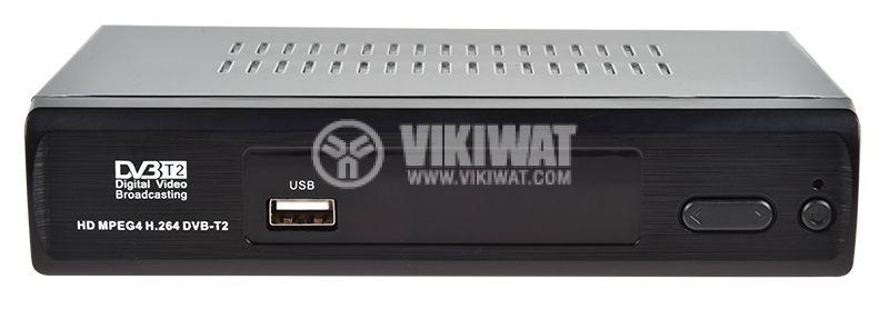 Ефирен HD приемник, MPEG4, H.264, DVB-T2, за ефирна цифрова телевизия за автомобили и камиони - 1