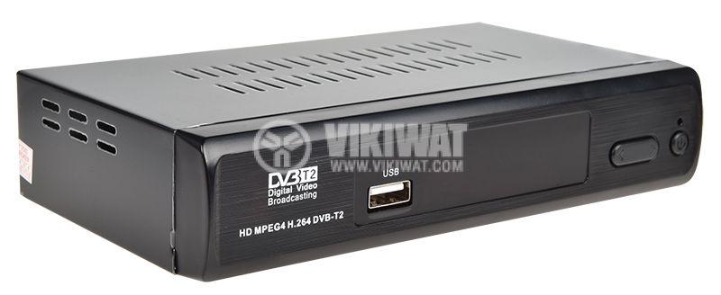 Ефирен HD приемник, MPEG4, H.264, DVB-T2, за ефирна цифрова телевизия за автомобили и камиони - 2