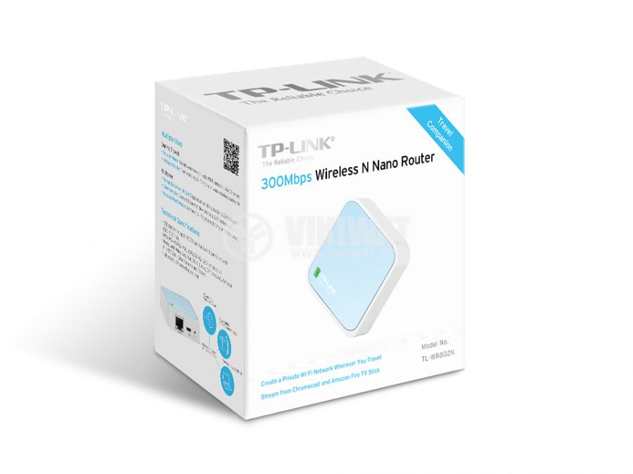 Router TP-LINK TL-WR802N 300Mbs, 2.4GHz - 3